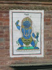 IMG_1187 (Rickard Nilsson) Tags: nepal kathmandu earthquake disaster ruins texture hindu hindi nepalese hinduism