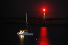 In the heat of the night (SmemorGi) Tags: france faro francia nuit phare notte raycharles intheheatofthenight martigues lacouronne plagesaintecroix