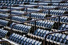 Blue Crab Stadium (Bravo213) Tags: water chairs baseball hose seats trucks cy challengeyouwinner pregamewinner bluecrabstadium