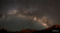 Sedona Milky Way (Chris Frailey) Tags: longexposure nightphotography sky night stars twilight space galaxy astrophotography astronomy heavens universe constellations starrynight milkyway starlight sedonaarizona