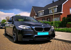 Hot BMW M5 (Walther H Photography) Tags: blue red black car drive automobile ride interior automotive f10 m bmw brakes rims m5 carspotting waltherhphotography