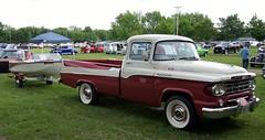 1959 Dodge 100 Sweptside Pick-Up (DVS1mn) Tags: show park cars car minnesota midwest swap annual mopar mn meet farmington mopars
