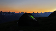 My new tent (Hilleberg Enan) Stabbio di Cima - Ticino - Svizzera (Felina Photography - in NL, preparing for Austria) Tags: camping camp outdoor tent zelt tenda hillebergenan