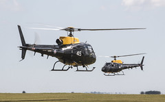 EGVP - Eurocopter AS350BB Squirrel HT2 - Army Air Corps - ZJ244 & ZJ245 (lynothehammer1978) Tags: egvp aacmiddlewallop aac armyaircorps army britisharmy middlewallop eurocopteras350bbsquirrelht2 zj244