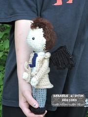 Castiel Doll 01c (zreekee) Tags: castiel supernatural crochet saskatchewan sparkledoomdesigns canada doll angel