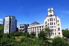 The former Great Mills now Denis Diderot University (Sokleine) Tags: paris france building heritage architecture restoration bâtiment immeubles 75013 grandmoulins