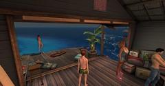 20160627 - PatrickUnicorn_12 (Patrick Unicorn) Tags: boy people house interior crowded beach sea shore
