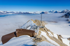 Zeppelin Air Monitoring Station (JSS-N) Tags: airmonitoring arctic glacier mountains norge norway nylesund pollution snow spitsbergen svalbard zeppelin