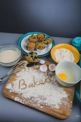 179A4589-4 (den_ise11) Tags: lighting holiday black kitchen fruit 35mm canon studio photography muffins baking nikon shadows basket background egg gray july fresh fisheye made blueberry homemade setup muffin flour fourth bake softbox 15mm baked whisk alienbees