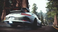 I Prefer N2O though... (polyneutron) Tags: car photography porsche 911 gt3 white supercar racer needforspeed nfs rivals pc videogame photomode motion bokeh depthoffield