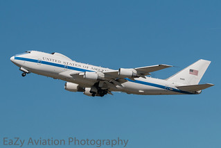 75-0125 United States Air Force Boeing E-4B