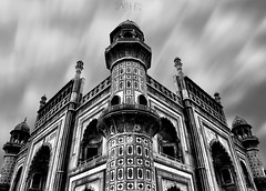 Static! (Vaibhav Kaushik) Tags: travel clouds old tourism architecture building monument india art monochrome traveler bnw long exposure ancient artistic famous landmark architectural symmetry historical delhi traditional historic heritage tomb safdarjung picoftheday incredibleindia indianphotography skyline blackandwhite sky landscape nikon longexposure mosque photooftheday iamnikon wandershots photography wanderlust day asia nikkor design texture arch cloudscape indian indianphotographers brickwork hdr newdelhi beautiful traveller flickr ngc
