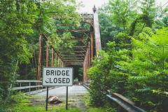 Closures (jd urban) Tags: hudsonny upstatenewyork travelphotography bridge landscape nature