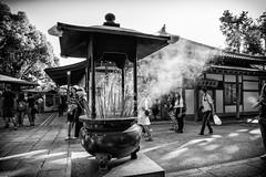 Incenso (Ciskia) Tags: fog smoke temple devotion japan kyoto