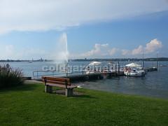 20160816_172310 (coldgazemedia) Tags: photobank stockphoto bluesky blue outdoor switzerland kreuzlingen thurgau bodensee lake lakeofkonstanz summer green waterfront watersports swimming sunbath sea seaside fountain