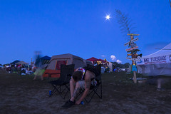 """Fell Asleep"" (Melissa June Daniels) Tags: philadelphiafolkfestival music art light lightpainting melissajdaniels melissajunedaniels melissajdanielsphotography thenymphandthebee longexposure lowlight moonrise moon"