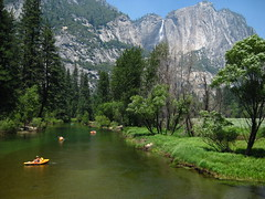 Paddling in Yosemite (US Department of State) Tags: boating rubberboats paddle visitors nps nationalparkservice centennial nationalparksservicecentennial