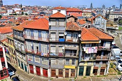 Old buildings in Porto (Portugal) (tione76) Tags: porto nikon d5300 tione76 building immeuble architectory architecture portugal couleurs colour color hdr