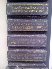 Departments (langustefonts) Tags: fife scotland east neuk letters signpost ghostsign manicule
