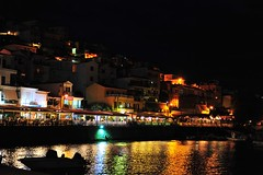 GrEEcE is... (sifis) Tags: greece island lesvos plomari sakalak nikon d700 2470  aegean sea night lights