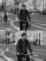 [La Mia Citt][Pedala] (Urca) Tags: milano italia 2016 bicicletta pedalare ciclista ritrattostradale portrait dittico nikondigitale mir bike bicycle biancoenero blackandwhite bn bw bnbw 881138