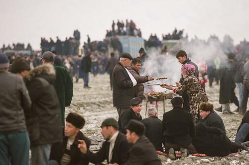 Shashlik at Kopkari; Bulungur, Uzbekistan