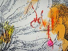 DSC0966853 (scott_waterman) Tags: scottwaterman painting paper ink watercolor gouache lotus lotusflower detail