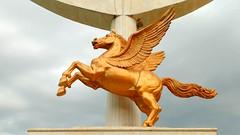 arunoorath-bronze-pegasus (arunoorath) Tags: horse bronze chennai tamilnadu india city pegasus mgr beach marinabeach madras