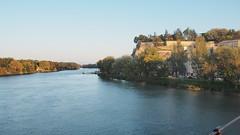 PA224198 (餅乾盒子) Tags: 法國 亞維儂 france avignon 夕陽 pont davignon saintbénezet 亞維儂斷橋 聖貝內澤橋 阿維尼翁橋