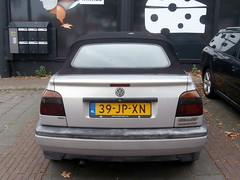 Volkswagen Golf 3 cabrio 1997 nr2410 (a.k.a. Ardy) Tags: 39jpxn softtop