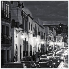 street (travelben) Tags: zacatecas mexico nb bw street city urban light nighy