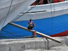 Sunda Kelapa (SqueakyMarmot) Tags: travel asia indonesia java jakarta 2016 sundakelapa oldharbour port pinisi boats worker