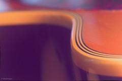 Macro Mondays : Edge. (sdupimages) Tags: flou dof bokeh guitar guitare abstraction abstrait tamron macro courbe edge macromondays