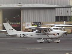 G-ZINC Cessna 182 (Aircaft @ Gloucestershire Airport By James) Tags: gloucestershire airport gzinc cessna 182 egbj james lloyds