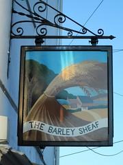 Liskeard The Barley Sheaf Pub Sign (Bridgemarker Tim) Tags: liskeard pubs inns cornwall