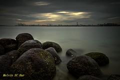 DSC_7382 (melvhsc100) Tags: beach rocks sky seascape water wideangle longexposure lights landscape blue cloud colours nikon7200 nikon1024mm