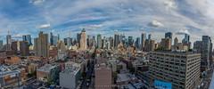NYC Panorama (Ben Zavala) Tags: 2016 benzavala molly nyc rick sonya7 newyork newyorkcity hellskitchen clouds buildings skyscrapers