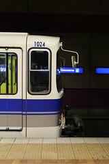 1024 (Laurence's Pictures) Tags: edmonton alberta downtown canada buildings city centre subway light rail vehicle lrv public transit trolley tram commuter rapid urban