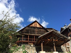 Vaujany in all it's glory! (campanule1) Tags: oisans ete summer chalet building france vaujany