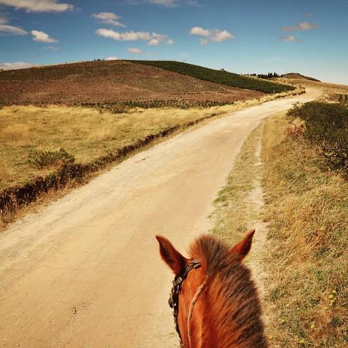 À cheval sur le plateau de Chugchilán.