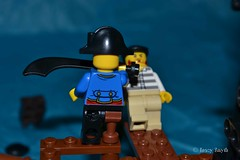 Walk the plank (271/366) (Tas1927) Tags: 366the2016edition 3662016 day271366 27sep16 captainjack lego pirate minifigure minifig