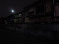 Night in the City (CentipedeCarpet) Tags: panasonic gx8 micro four thirds tokyo japan oku nishiogu night street unlimited photos 918mm 918mmf456 wide