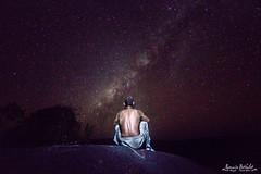La tte dans les toiles (R.B.Pixx) Tags: guyane savane roche virginie paysage voie lacte milky way toiles nuit