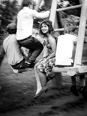 Fun more time (Kalev Lait photography) Tags: swing smile people speed gathering happiness