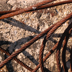 Buckie harbour (WOVEN IN THE BONE) Tags: buckieharbour textilesatwork rope nets fishingnets texture pattern colour inspiration textiledesign morayfirth scotland autumn industrial landscape