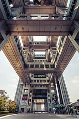 Fuji TV (MichaWha) Tags: minatoku japon jp japan tokyo odaiba michaelflocco canoneos6d 1740mmf4lusm fujitv building architecture wideangle