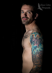 Photo shoot w/ Tom (Shawn Collins Photography) Tags: model modeling tone sleeve tattoo tats industrial shirtless masculine hairy face arms muscular handsome malemodel ohio graffiti canon guys fitness fit fitnessmodel portrait