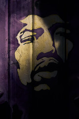 Purple Haze - Greenwich Village (-Steve Roe-) Tags: hendrix