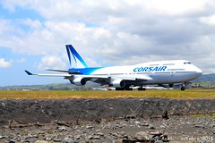 FMEE - 10 octobre 2016 Boeing 747-422 Corsair International F-HSUN (Citaro_1314) Tags: corsair boeing 747400 runion fhsun