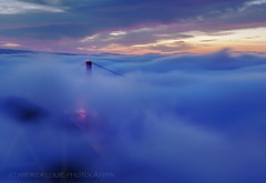 dReAMLaND (Andrew Louie Photography) Tags: golden gate bridge low fog epic october deamland andrew louie photography san francisco fall autumnbeauty burn colors jazz coffee